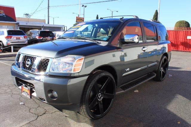 2007 nissan armada tire size